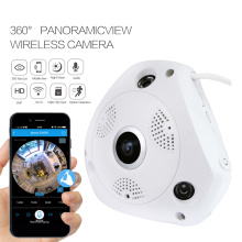 360 Fish Eye Panorama WiFi IP-Kamera