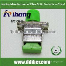 Adaptateur SC FC APC / adaptateur hybride fibre optique boîtier en métal