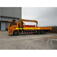 SHACMAN 6x4 18ton Camions-grues