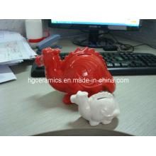 Dragon forma de banco de moneda, caja de dinero