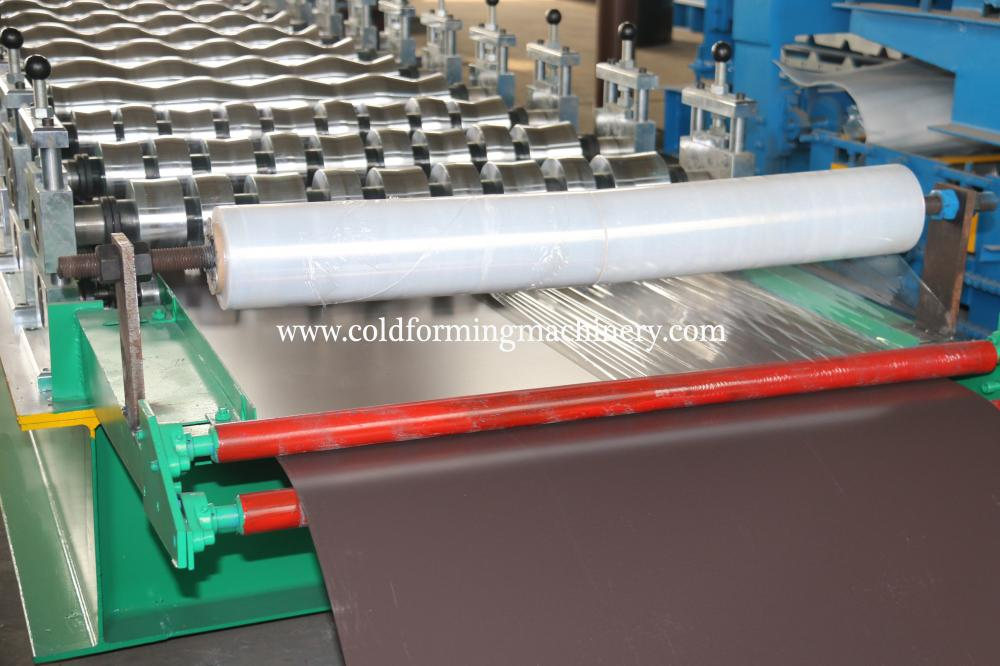 Gerbang Steel Glazed Rolling Machine
