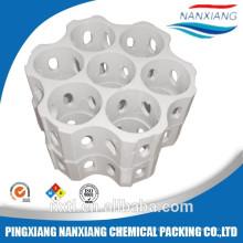 Свет-ребристые бар-скрещенные керамические кольца и керамические комбинации Упаковка башни кольца