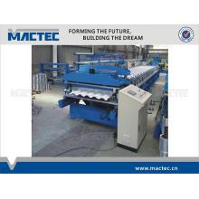Automatische Metalldachziegelrolle der hohen Qualität, die Maschine bildet