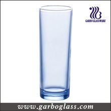 15oz Blue Highball Glass Tumbler