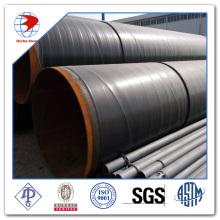 A53 Grade B external coated 3LPE ERW Pipes