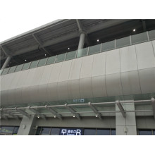 PVDF beschichtete Aluminium Wabenplatten für Außendächer und Wände