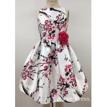Printed girl's  dress