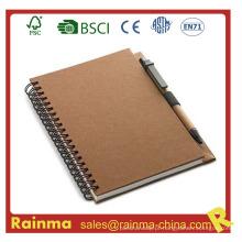 Caderno de papel para fornecimento de escritório