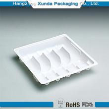Emballage en plastique jetable à chaud pour bac médical