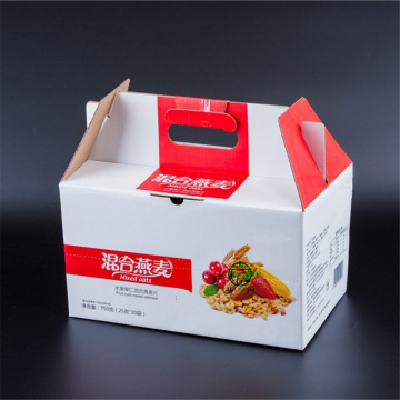 Custom Cardboard Box for Cereal Packaging