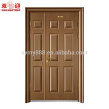 high quality mom and son door designs one and half door-leaf steel door