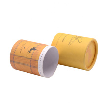 Luxury Design Custom Gift Cosmetic Perfume Bottle Paper Cardboard Round Cylinder Tube Packaging