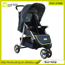 stroller for baby front wheels with suspension thress wheels
