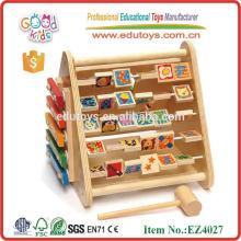 Juguetes educativos del juego del ábaco de madera divertido