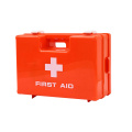 empty small travel kit first aid box