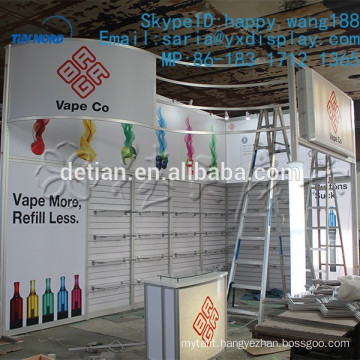 Modular exhibition stands/exhibition display shelf/ standard 10x20 exhibition booth