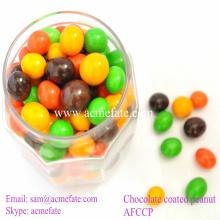 Compound billig Süßigkeiten Ball Schokolade Erdnuss
