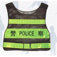 Chaleco reflectante para la policía