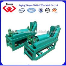Enderezadora y máquina de corte de alambrón de bobina