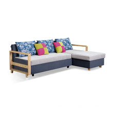 Sofá cama de canto moderno