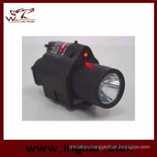 M6 6V 180lm Qd LED Tactical Flashlight & Red Laser Sight Achromatic Light