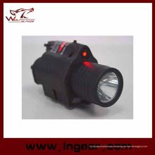 M6 6V 180lm Qd LED taktische Taschenlampe & rote Laser Anblick achromatische Licht