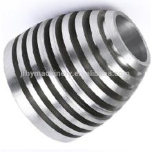 Fundição de alumínio de alta precisão OEM para peças de iluminação usinagem de peças