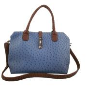 Weekend Bag with Ostrich Printed (JD1075)