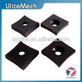 Piezas mecanizadas de aluminio anodizadas de encargo de China