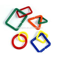 Brinquedos populares para crianças, Cadeias IQ anéis de conexão, blocos de brinquedo