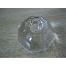 Candelero de cristal tallado (JD-CL-040)