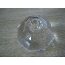 Porte-bougie en verre taillé cristal (JD-CL-040)