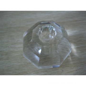 Crystal Cut Glass Candle Holder (JD-CL-040)