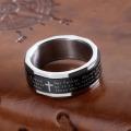 Cristão Verso Religioso Religião Spinner Anéis Para Homens