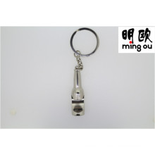 Promotional Souvenir Gift Keychain Bottle Opener with Qr Code