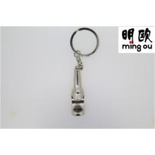 Abridor de garrafa relativo à promoção de Keychain do presente da lembrança com código de Qr