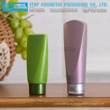 QB-TV serie 60ml 75ml tamaño pequeño HDPE plástico invertido botella crema de bb