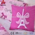 3pc pigment print cheap price luxury bedding comforter sets matching with decoration pillow