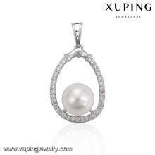 32964-wholesale fashion jewelry stylish pearl necklace pendant