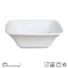 Cor branca da bacia quadrada cerâmica