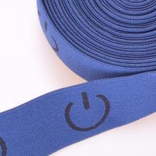 Thin Blue Dacron / Nylon / Cotton Elastic Strap elástico para escalar