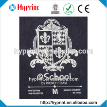 2015 First class heat transfer film(label) on garment(cloth) , factory direct wholesale