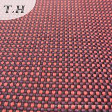 Tissu de toile de colorant de fil de lin pour le sofa