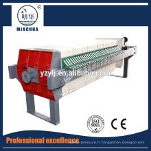 presse de filtre à bande à haute densité / machine de déshydratation de boue