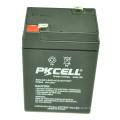 PKCELL wholesale price VRLA Sealed Lead Acid Battery 6v 4.5ah for solar system