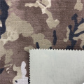 Tejido ignífugo Oxford de camuflaje militar de nylon