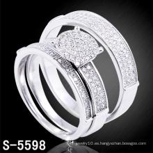Anillos cristalinos de alta calidad de la joyería de la manera (S-5598. JPG)