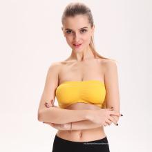 Alibaba china personalizado cosecha tops y sujetador, mujeres deportivas sujetador, ropa deportiva al por mayor sujetador