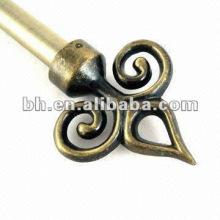 Ventana, tensión, hierro, cortina, varilla, flecha, flecha