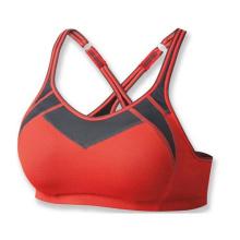 Kundenspezifische Frauen Polyester / Spandex Sexy Sport Yoga BH / Genie BH